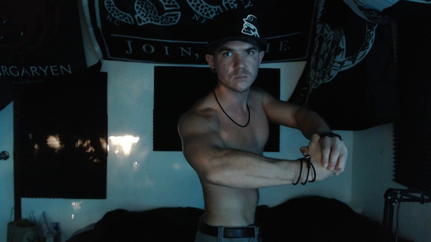 metal mulisha DTOM home studio male fit jacked trap targaryen 28 man MAGA flex strength